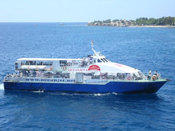 Cebu-Tagbilaran-Dumaguete v.v route