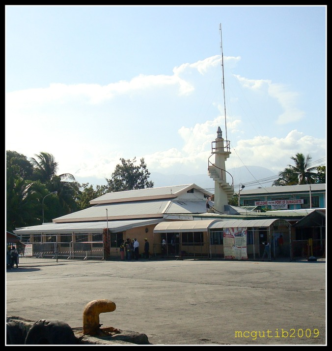 Dumaguete Passenger  Terminal and Lighthouse