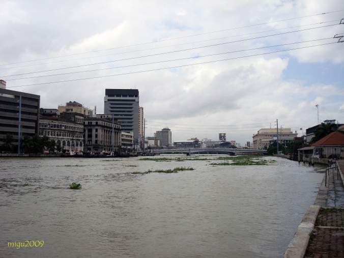 The once thriving old Port of Manila during Spanish occupation.