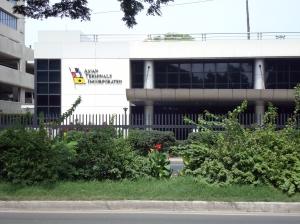 ATI Office Building located at Bonifacio Drive, South Harbor Manila.