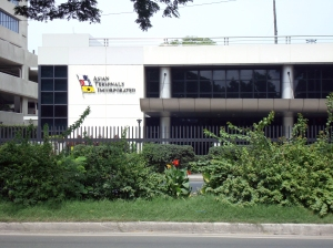 ATI Office Building located at Bonifacio Drive, South Harbor Manila.