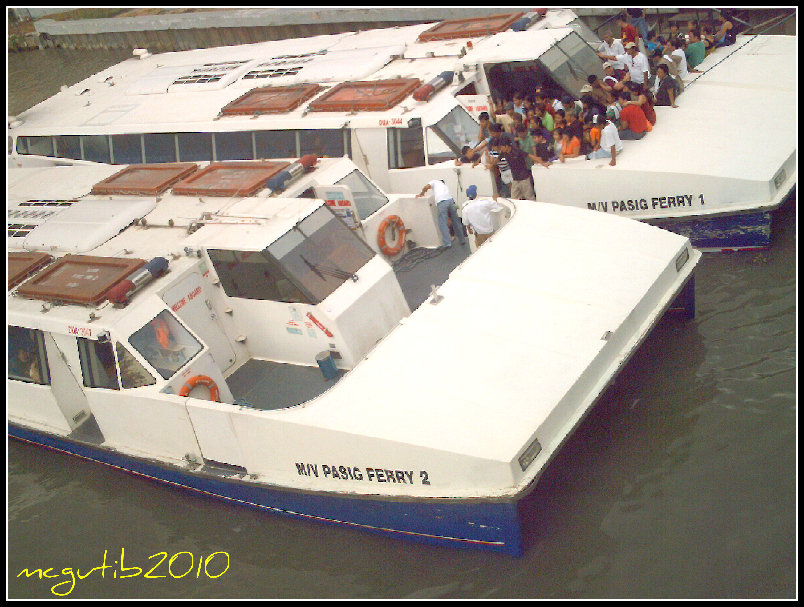 Pasig River Ferry Schedule Pasig River Ferry Seen at