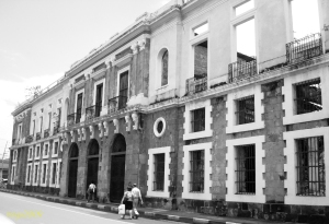 Ruins of Old Aduana Building, Intramuros Manila