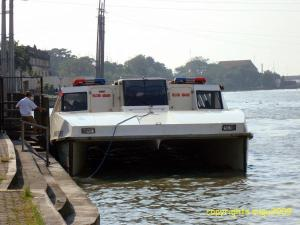 Pasig River Ferry seen at Plaza Mexico Station