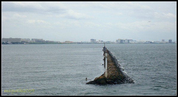 South Harbor's south breakwater