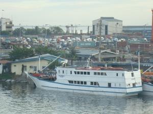 MV Asuncion docked here  at Isla Puting Bato Port