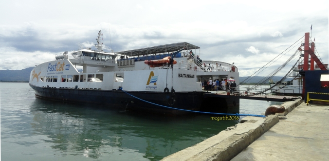 Fastcat M6 docked in Port of Dapitan.