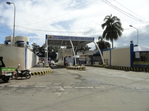 Vehicular entrance at Port of Dapitan