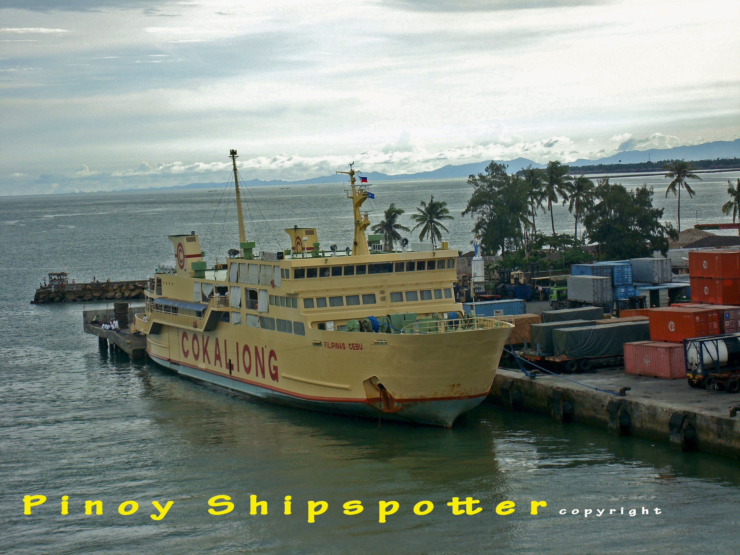 features Philippine Ports, Ships, Shipping Operator and its route