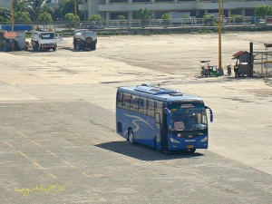 Ceres Bus at Batangas Port