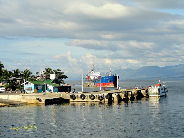 Tandayag Port, Amlan