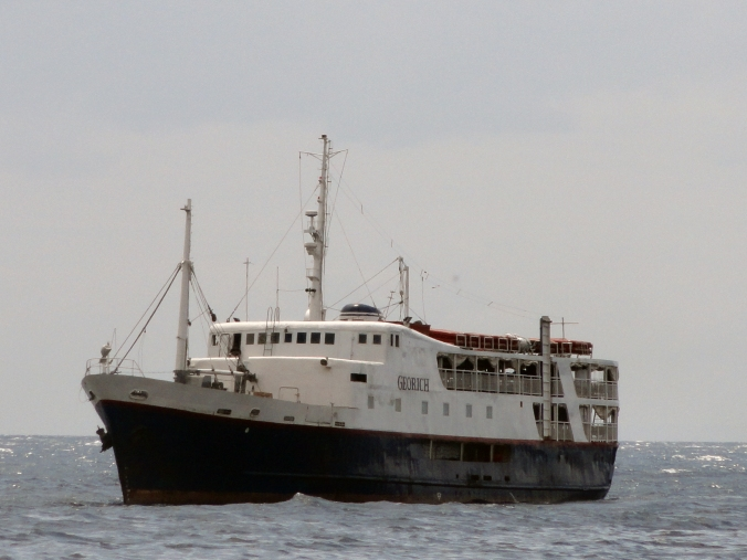 """M/V Georich"" one of the oldest ferry in service today."