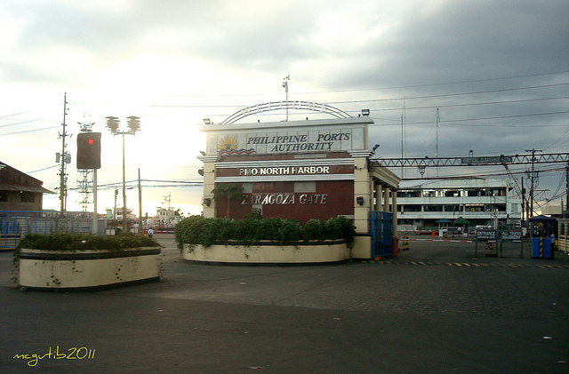Zaragoza Gate Pier 4 Manila North Harbor.